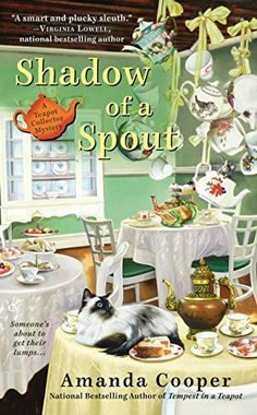 Shadow of a Spout (A Teapot Collector Mystery) by Amanda Cooper, http://www.amazon.com/dp/B00LMGLZEQ/ref=cm_sw_r_pi_dp_9b3pub1KD7AA2