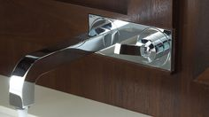 Axor Citterio Wall-Mounted Single-Handle Faucet in chrome