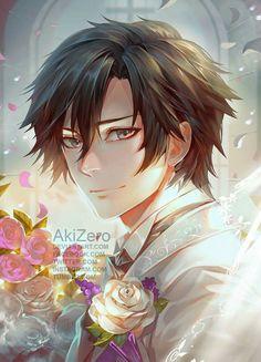 AkiZero's gorgeous art of Jumin