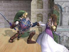Link Saves Zelda   リンク&ゼルダ姫 の画像をもっと見る?