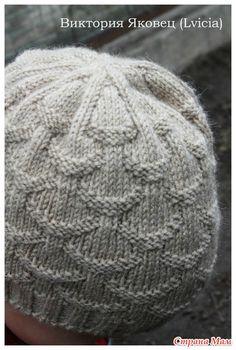 """KNITTING;  """"Shells"""" hat pattern"""