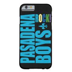PASADENA BOYS ROCK! BARELY THERE iPhone 6 CASE #80s #Pasadena #iPhone6