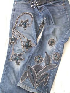 I have a pair of jeans this would be perfect for!