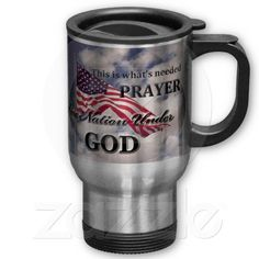 One Nation under God American Flag Mugs