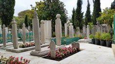 Süleymaniye cami temetője Istanbul
