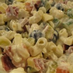 Pasta Salad, Food And Drink, Ethnic Recipes, Koti, Drinks, Pineapple, Red Peppers, Crab Pasta Salad, Drinking