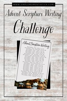 This Christmas season, you are invited to join in on an advent scripture writing challenge that will change your life! 25 days of writing Scripture will allow your heart to focus on Jesus and get in tune with the true meaning of Christmas.