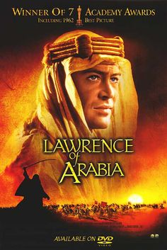 Dinner and a Movie: Lawrence of Arabia  ..  (On the Menu: Middle Eastern Inspired Cuisine)
