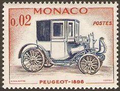 Monaco 1961 2c Peugeot.