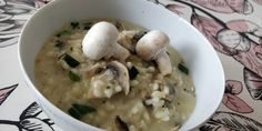 Tupun tupa: Sienirisotto Risotto, Soup, Ethnic Recipes, Soups, Chowder