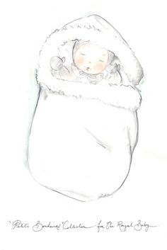Royal Baby Booty: Designers Sketch Gifts Fit for a (Future) King (Dior's Petits Bonheurs Collection) [Courtesy Photo]