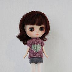 Ravelry: Love Sweater for Middie Blythe pattern by Anne Heidemann