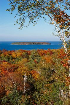 ✯ Peninsula State Park, Fish Creek, Wisconsin, USA. On the Green Bay side of the Door County Peninsula. (Green Bay is considered a sub-basin of Lake Michigan) .Spectacular Park
