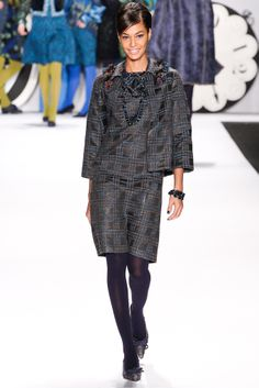 Fall 2012 Ready-to-Wear  Anna Sui