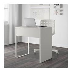MICKE Desk, white white 28 3/4x19 5/8