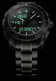 """Omega Speedmaster Skywalker X-33 Watch - by Ariel Adams - """"Omega X-33 watch lovers will rejoice to know that for 2014, Omega is releasing a brand new version of the X-33 called the Speedmaster Skywalker X-33. You can now insert relevant Luke Skywalker and other related Star Wars references..."""""""