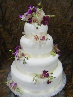 By Konditor Meister Elegant Wedding Cakes.