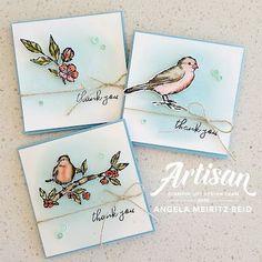 Stampin' Up! free as a bird, bird ballad suite