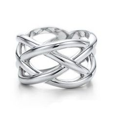 Tiffany & Co Outlet Knots Ring-size 9