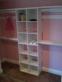 Baby's closet construction almost complete!