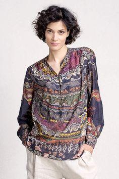 Tunic with Print - Blouse/Top | Ivko Woman