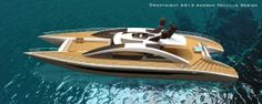 Equinox - a 45 feet #superyacht #catamaran concept designed by Andrew Trujillo, a yacht designer and Adam Younger, a naval architect & designer. http://marinesolutionsindia.blogspot.in/2014/04/equinox-45-feet-superyacht-catamaran.html