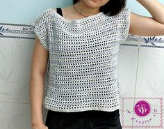 Ravelry: Comfy Crop Top pattern by Maz Kwok