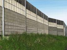 Lärmschutzwand A1 Amstetten mit Holzbeton-Absorbern - Aktuelles - Betonwerk Rieder