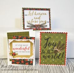 There are so many ways to make cute cards! Some take a long time, and others definitely don't need to (even though they look that way!).  Come see what @nursiebeth put together using her scraps.