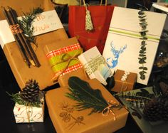 DIY Christmas Gift Wrapping - Super fun, easy and cheap!