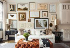 Gallery Wall · Creative Home Decor Inspiration · Wall Art · Eclectic Office · Vintage Decoration Inspiration, Inspiration Wall, Living Room Inspiration, Interior Inspiration, Decor Ideas, Wall Ideas, Room Ideas, Home Living Room, Living Room Designs