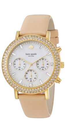 Gorgeous kate spade watch #wishlist http://rstyle.me/n/vgbs2n2bn
