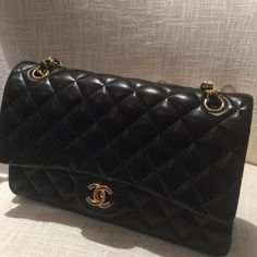 Chanel handbag This item was a gift and I can not confirm authenticity which is why I am selling it at this price. Dust bag/box included. Real leather. Bags Shoulder Bags