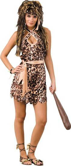 Cavewoman Costume for Adults - Halloween City