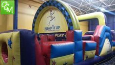 Info for Pump It Up Birthday Parties. Bounce house inflatable fun for kids. http://oaklandcountymoms.com/pump-it-up-birthday-parties-metro-detroit-25180/