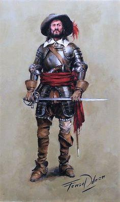 Jaén, sus calles, sus personajes: Bartolomé Aranda - Temas Militares, Imágenes Militares, Soldados, Tercios Españoles, Soldado Español, Personagens Dnd, Armadura De Caballero, Arte Militar, Renacimiento