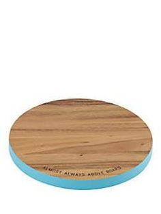 wooden round cutting board by kate spade new york