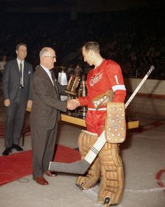 Roger Crozier Hockey Goalie, Hockey Games, Nhl, Hockey Pictures, Vancouver Canucks, Detroit Red Wings, Image, Gallery, School