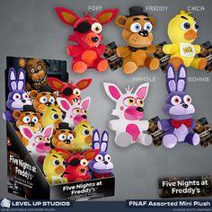Five Nights at Freddy's Assorted Mini Plush