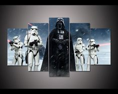 Express yourself artfully with canvas and metal art Canvas Artwork, Canvas Wall Art, Canvas Prints, Star Wars Classroom, Metal Wall Art, Dark Side, Character Art, Darth Vader, Stars