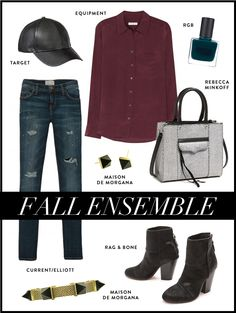 fall ensemble I love that I'll be able to use my leather cap!
