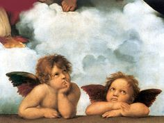 Angels from the Sistine Madonna