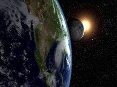 """""""God put the lights in the huge space of the sky to give light on the earth."""" Genesis 1:17"""