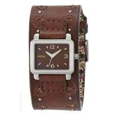 c3e3fd02c13 Image result for vintage fossil ladies watch wood Couro