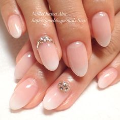 The advantage of the gel is that it allows you to enjoy your French manicure for a long time. There are four different ways to make a French manicure on gel nails. Fancy Nails, Love Nails, Pink Nails, Pretty Nails, Gel Nails, Bridal Nails, Wedding Nails, Pretty Nail Designs, Nail Art Designs