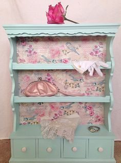 Shabby Chic Cabinet by Not2ShabE on Etsy