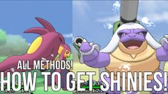 How to get shiny Pokemon in Pokemon X and Y (All Methods/Updated Version)