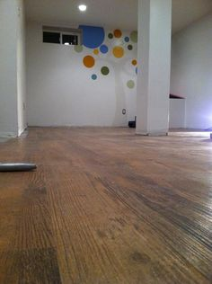 Lumber Liquidators. The vinyl plank wood flooring