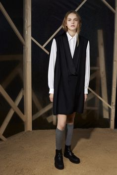 LOOK   2015 PRE-FALL COLLECTION   MM6 MAISON MARTIN MARGIELA   COLLECTION   WWD JAPAN.COM