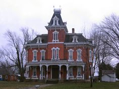 John Wright Mansion in Huron County, Ohio.